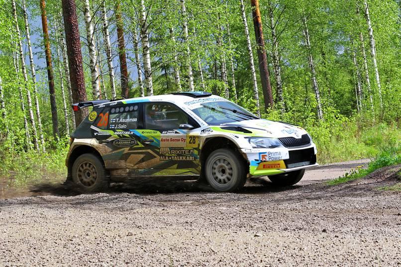 Don Auto World >> Sm Ralli Rallin Sm Sarjan Kauden Viides Osakilpailu